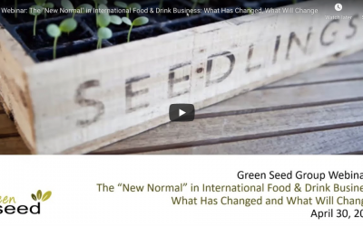 "Webinar: The ""New Normal"" in International Food & Drink Business: What Has Changed, What Will Change"