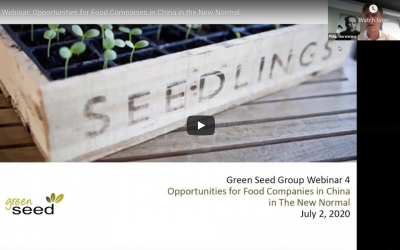 Webinar: Opportunities for Food Companies in China in the New Normal